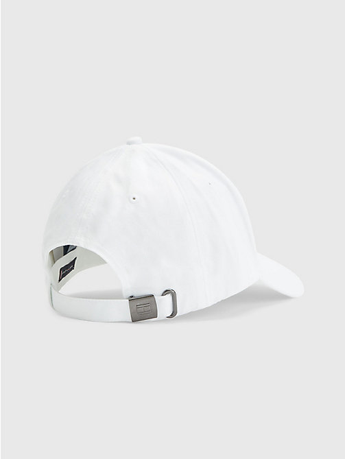 Cotton Cap - CLASSIC WHITE - TOMMY HILFIGER Bags & Accessories - detail image 1