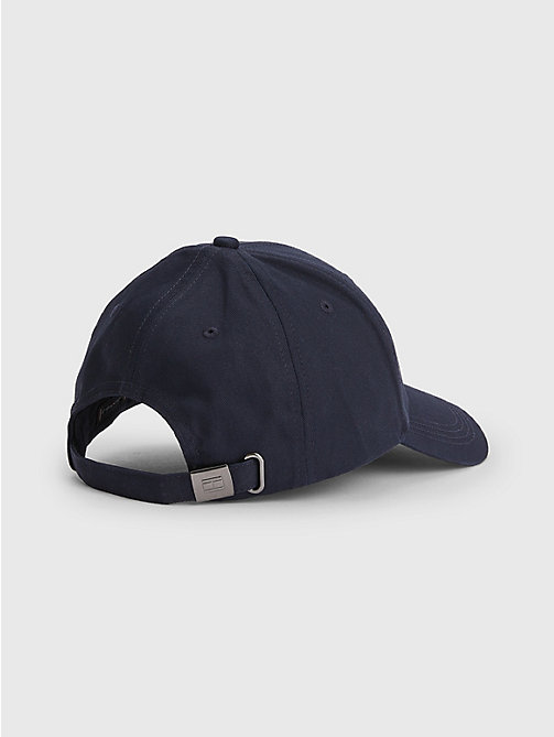 TOMMY HILFIGER Cotton Cap - MIDNIGHT - TOMMY HILFIGER Hats, Gloves &  Scarves - detail image 1