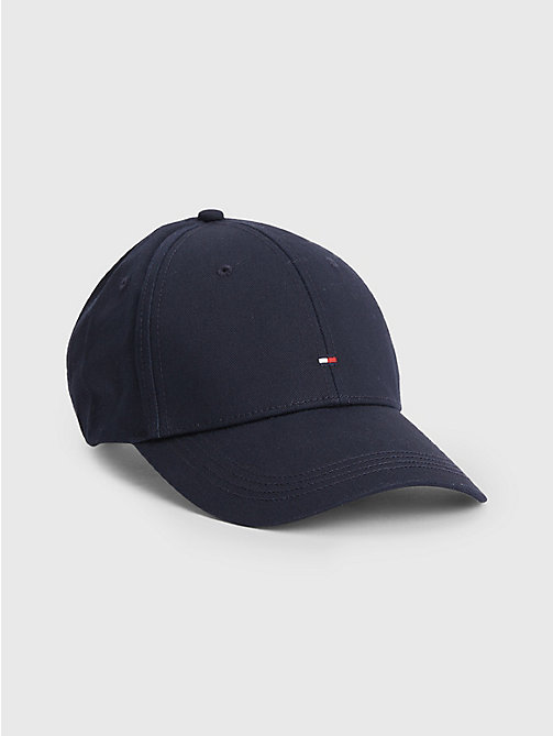 TOMMY HILFIGER Cotton Cap - MIDNIGHT - TOMMY HILFIGER Hats, Gloves &  Scarves - main image