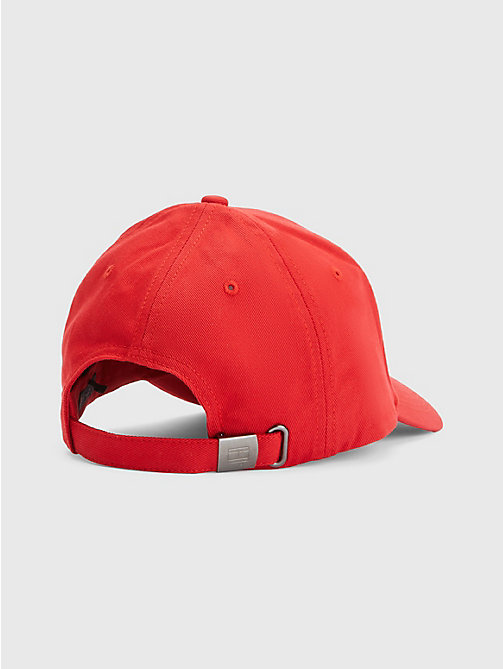 TOMMY HILFIGER Classic Baseball Cap - APPLE RED - TOMMY HILFIGER Hats & Scarves - detail image 1