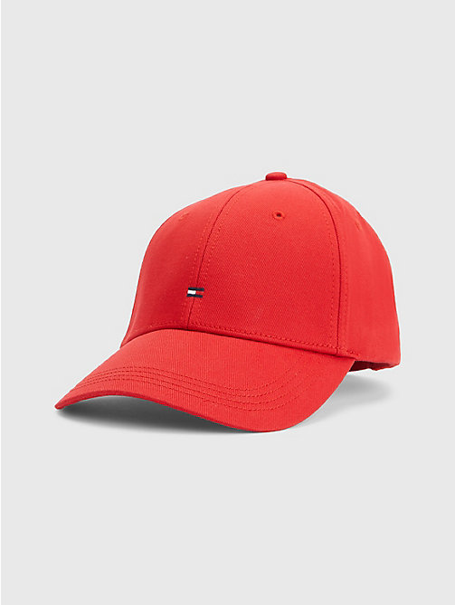 Cotton Cap - APPLE RED - TOMMY HILFIGER Bags & Accessories - main image