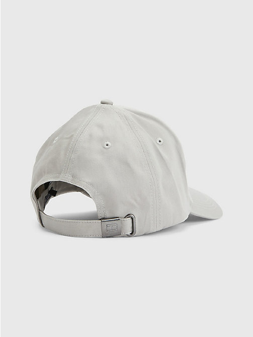 TOMMY HILFIGER Cotton Cap - DRIZZLE GREY - TOMMY HILFIGER Hats - detail image 1