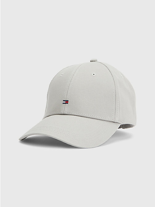 TOMMY HILFIGER Cotton Cap - DRIZZLE GREY - TOMMY HILFIGER Hats - main image