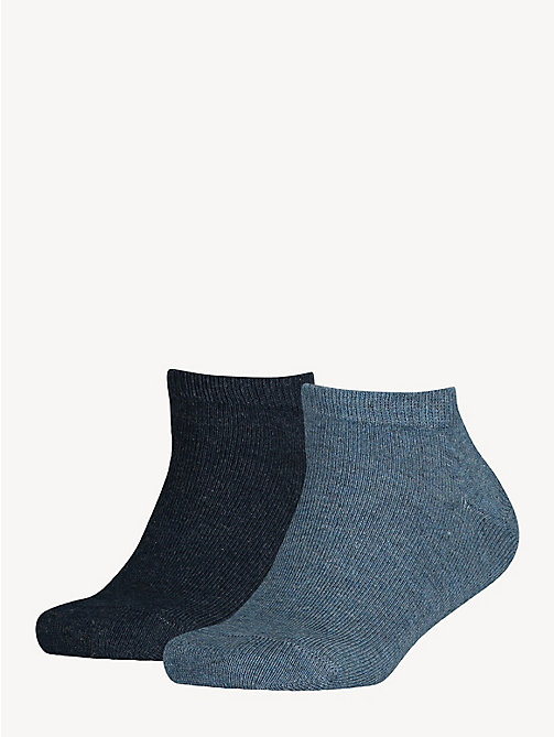 TOMMY HILFIGER 2-Pack Kids' Trainer Socks - JEANS - TOMMY HILFIGER Underwear & Socks - main image