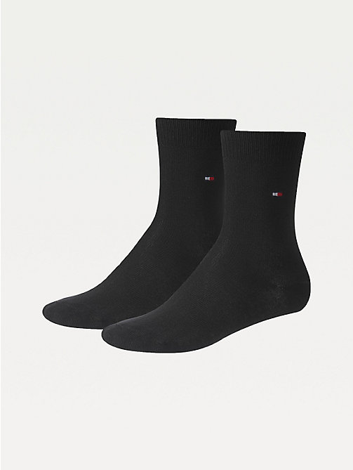 TOMMY HILFIGER 2-Pack Kids' Classic Socks - BLACK - TOMMY HILFIGER Underwear & Socks - main image