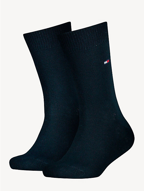 TOMMY HILFIGER 2 Pack Socks - MIDNIGHT BLUE - TOMMY HILFIGER Underwear & Socks - main image