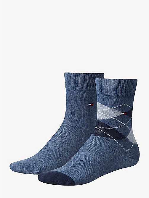 TOMMY HILFIGER 2 Pack Kids Socks - JEANS - TOMMY HILFIGER Underwear & Socks - main image