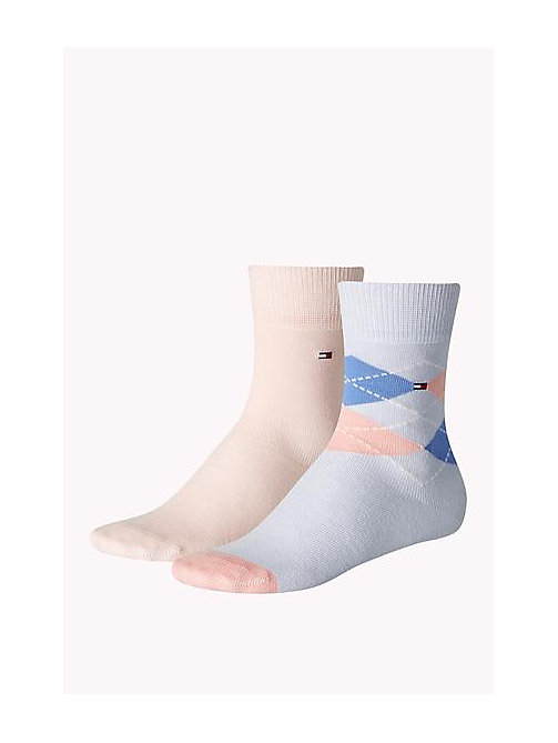 TOMMY HILFIGER 2 Pack Kids Socks - MODERN PREP - TOMMY HILFIGER Accessories - main image