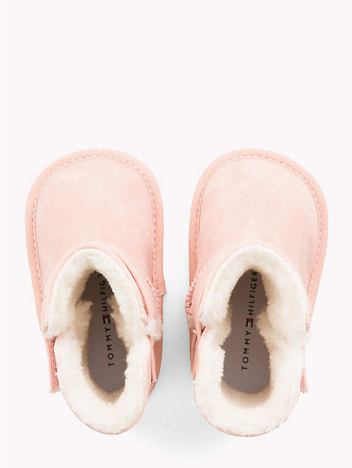 TOMMY HILFIGER Kids' Fleece-Lined Boots - PINK - TOMMY HILFIGER Shoes & Accessories - detail image 1