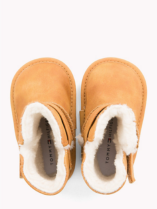 TOMMY HILFIGER Kids' Fleece-Lined Boots - CAMEL - TOMMY HILFIGER Girls - detail image 1