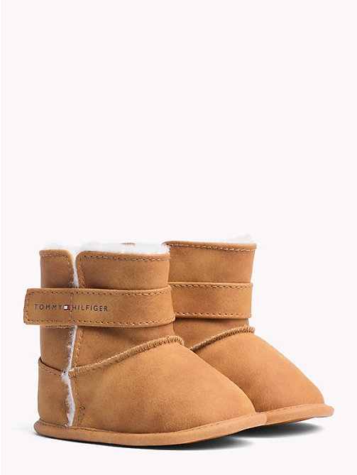 TOMMY HILFIGER Kids' Fleece-Lined Boots - CAMEL - TOMMY HILFIGER Girls - main image