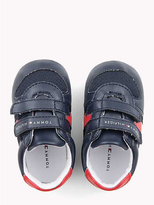 TOMMY HILFIGER Kids' Velcro Flag Shoes - BLUE/RED - TOMMY HILFIGER Boys - detail image 1
