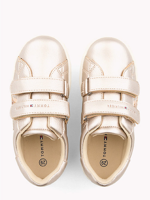 TOMMY HILFIGER Kids' Glitter Star Trainers - POWDER PINK - TOMMY HILFIGER Shoes & Accessories - detail image 1
