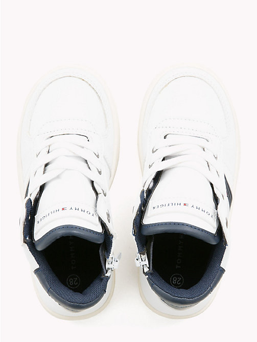 TOMMY HILFIGER Kids' Chunky High-Top Trainers - WHITE - TOMMY HILFIGER Shoes & Accessories - detail image 1