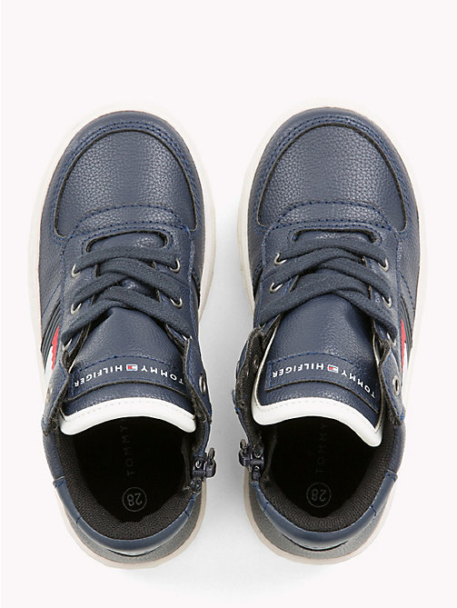 TOMMY HILFIGER Kids' Chunky High-Top Trainers - BLUE - TOMMY HILFIGER Boys - detail image 1