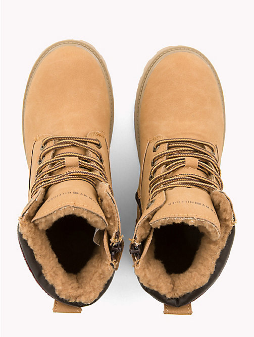 TOMMY HILFIGER Kids' Signature Camel Boots - CAMEL - TOMMY HILFIGER Shoes & Accessories - detail image 1