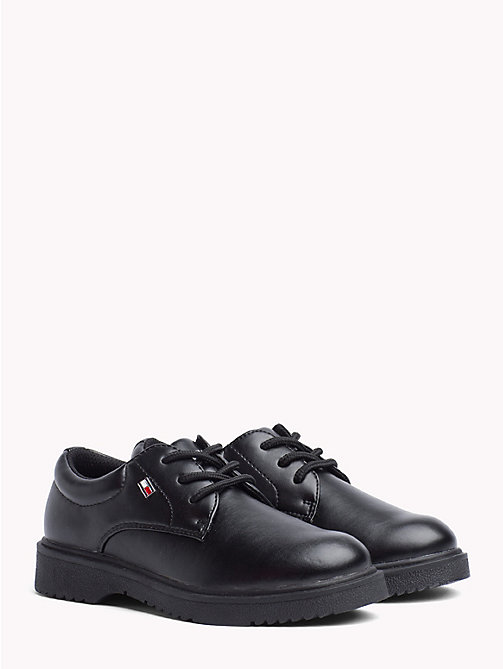 TOMMY HILFIGER Kids' Lace-Up Dress Shoes - BLACK - TOMMY HILFIGER Shoes & Accessories - main image