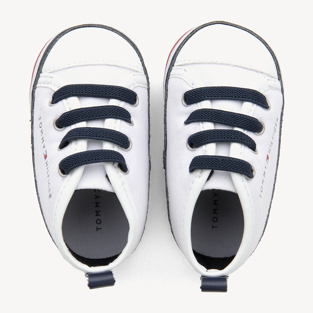 Tommy Hilfiger - Kids' Signature Sole Lace-Up Trainers - 4