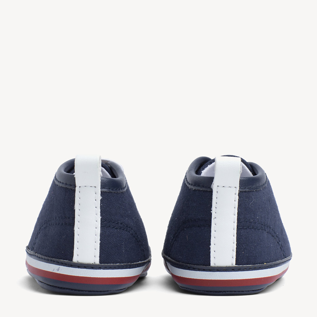 Tommy Hilfiger - Kids' Signature Sole Lace-Up Trainers - 3