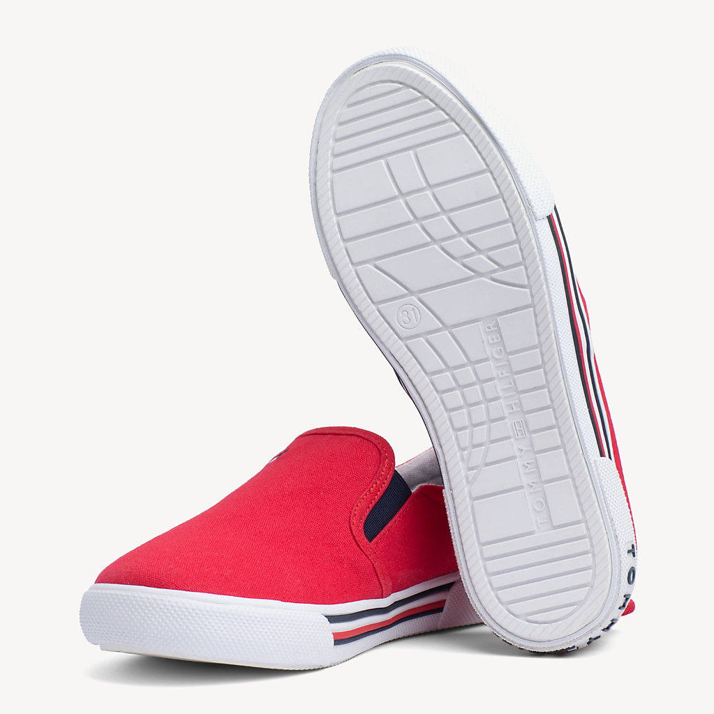 Tommy Hilfiger - Kids' Elasticated Slip-On Trainers - 2
