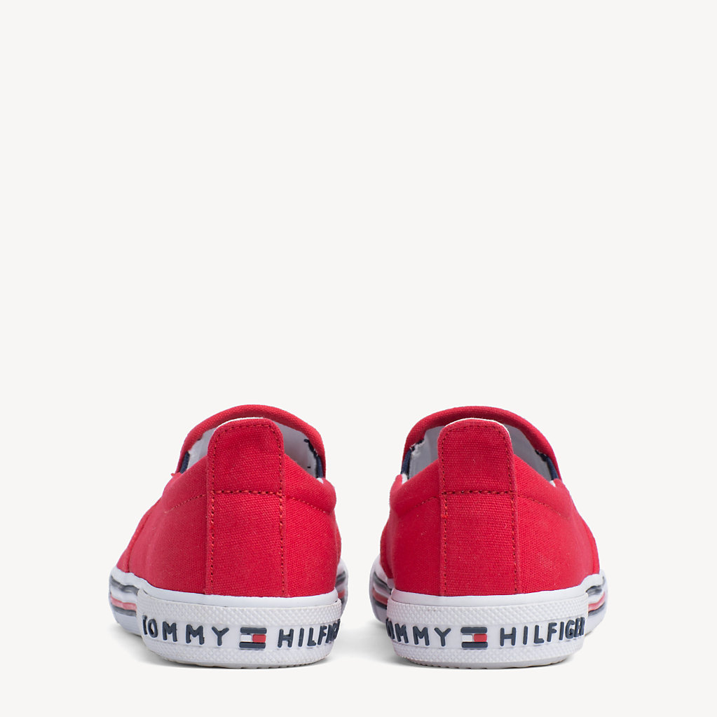 Tommy Hilfiger - Kids' Elasticated Slip-On Trainers - 3