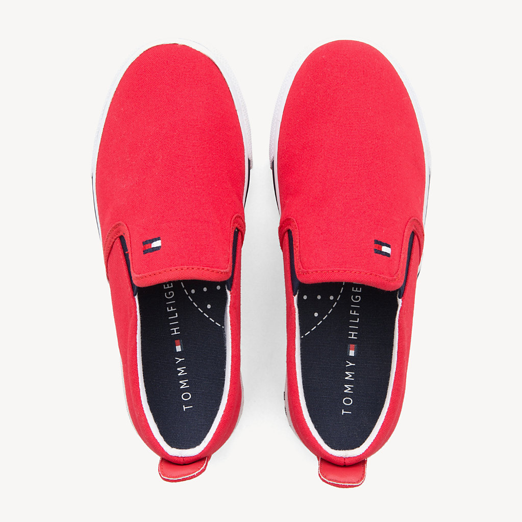 Tommy Hilfiger - Kids' Elasticated Slip-On Trainers - 4