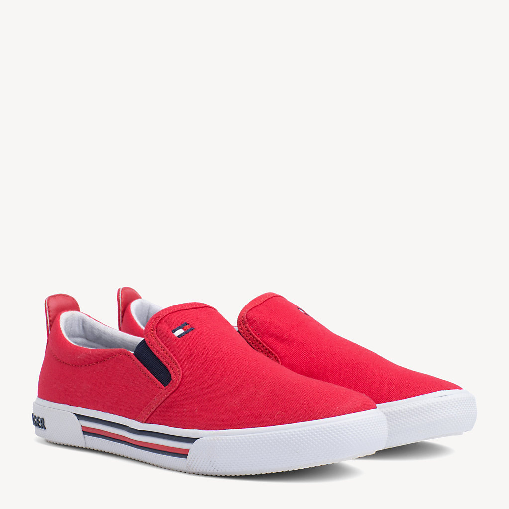 Tommy Hilfiger - Kids' Elasticated Slip-On Trainers - 1
