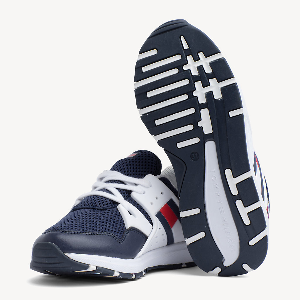 Tommy Hilfiger - Kids' Lace-Up Logo Trainers - 2