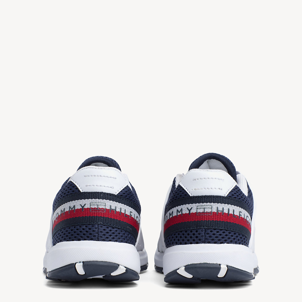 Tommy Hilfiger - Kids' Lace-Up Logo Trainers - 3