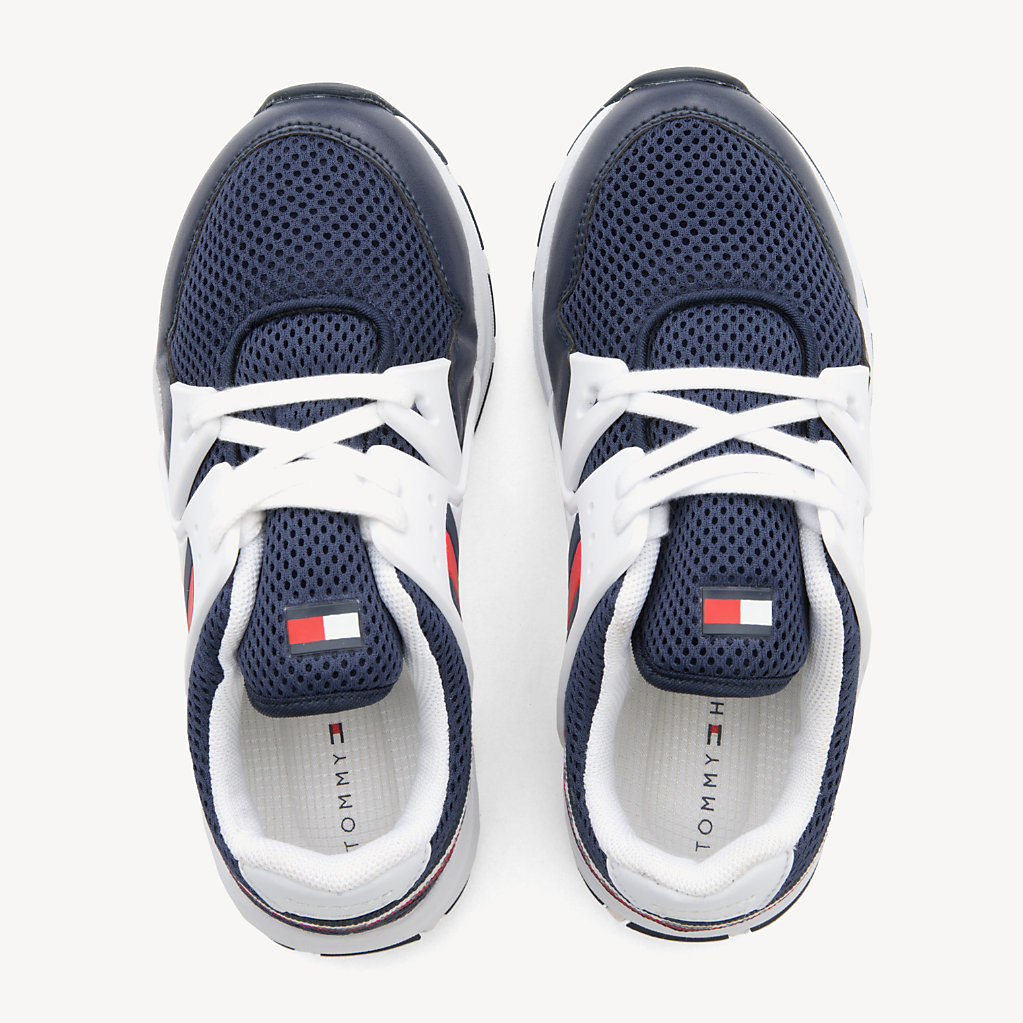 Tommy Hilfiger - Kids' Lace-Up Logo Trainers - 4