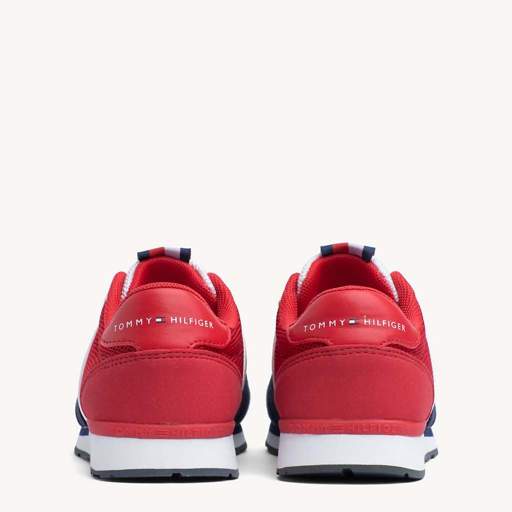 Tommy Hilfiger - Kids' Signature Colour-Blocked Mesh Trainers - 3