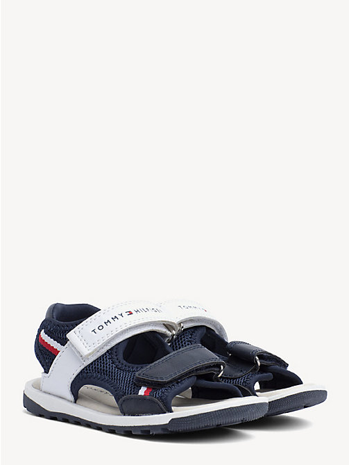 97038e6cf TOMMY HILFIGERKids  Velcro Closure Mesh Sandals