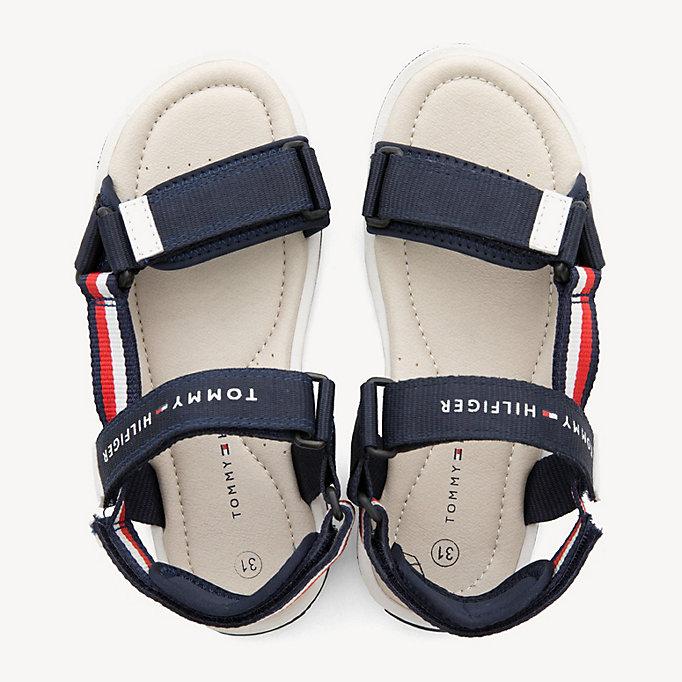 ee069baf Kids' Signature Tape Velcro Sandals | Tommy Hilfiger