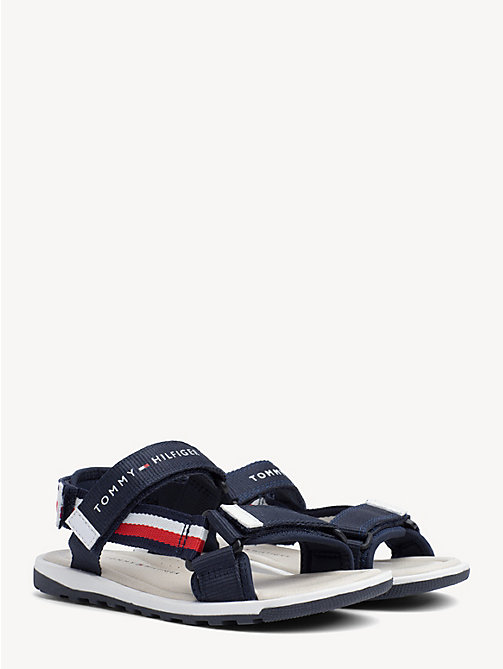 31d831e82 TOMMY HILFIGERKids  Signature Tape Velcro Sandals