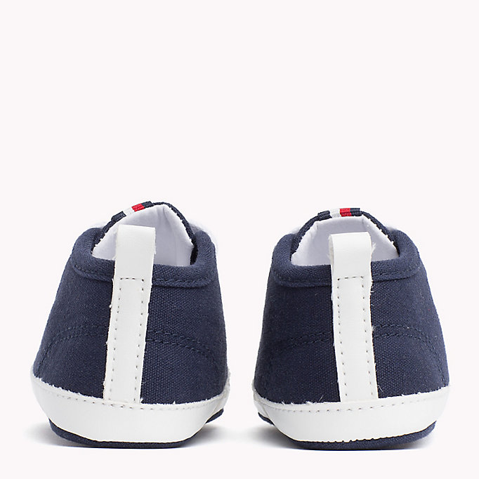 TOMMY HILFIGER Newborn Lace-Up Trainers - WHITE - TOMMY HILFIGER Kids - detail image 2