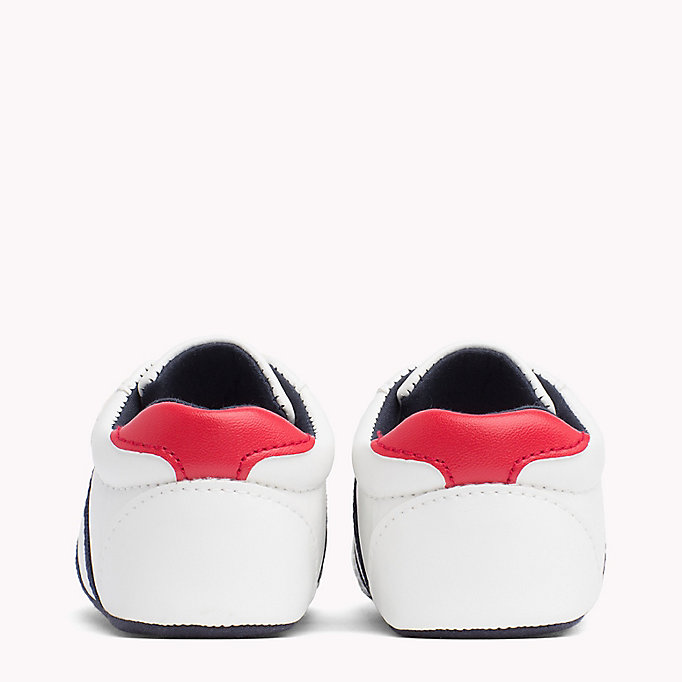TOMMY HILFIGER Everyday Velcro Trainers - BLUE / RED - TOMMY HILFIGER Kids - detail image 2