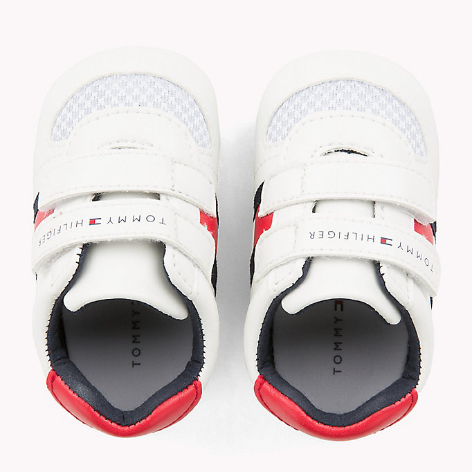 TOMMY HILFIGER Everyday Velcro Trainers - BLUE / RED - TOMMY HILFIGER Kids - detail image 3