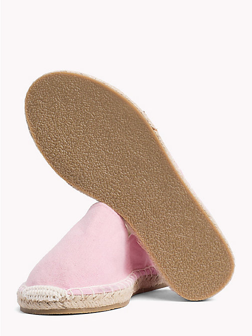 TOMMY HILFIGER Canvas Slip-On Espadrilles - PINK - TOMMY HILFIGER Girls - detail image 1