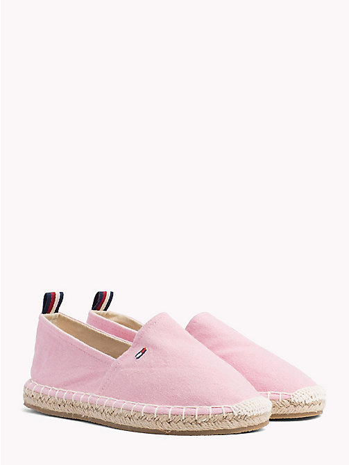 TOMMY HILFIGER Canvas Slip-On Espadrilles - PINK - TOMMY HILFIGER Girls - main image