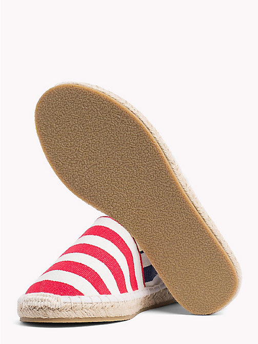 TOMMY HILFIGER Stripe Rope Sole Espadrilles - WHITE/RED/BLUE - TOMMY HILFIGER Girls - detail image 1