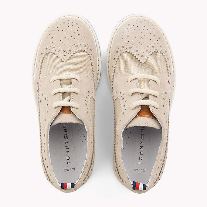 TOMMY HILFIGER Stripe Rope Sole Espadrilles - WHITE/RED/BLUE - TOMMY HILFIGER Kids - detail image 3