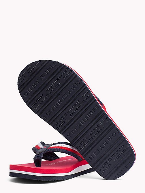 TOMMY HILFIGER Signature Flip-Flops - RED MULTICOLOR - TOMMY HILFIGER Boys - detail image 1