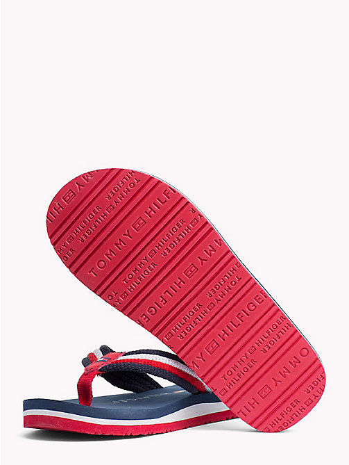 TOMMY HILFIGER Signature slipper - BLUE MULTICOLOR - TOMMY HILFIGER Jongens - detail image 1