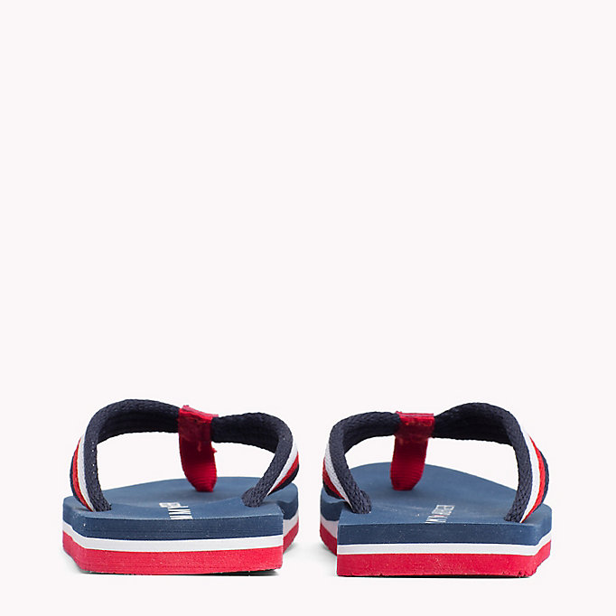 TOMMY HILFIGER Signature Flip-Flops - RED MULTICOLOR - TOMMY HILFIGER Kids - detail image 2