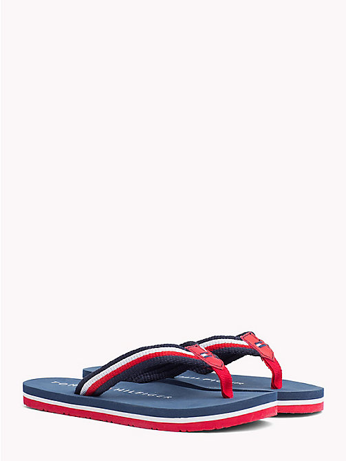 TOMMY HILFIGER Signature slipper - BLUE MULTICOLOR - TOMMY HILFIGER Jongens - main image