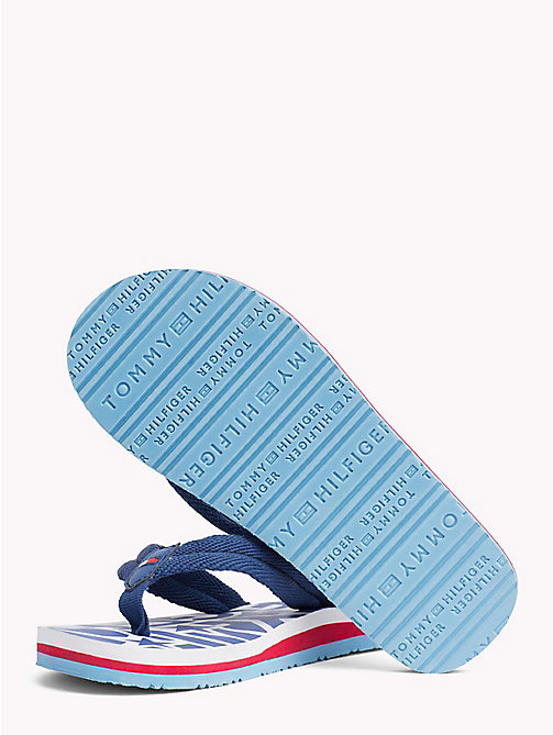 TOMMY HILFIGER Logomania slipper - ROYAL - TOMMY HILFIGER Jongens - detail image 1