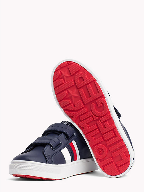 TOMMY HILFIGER Velcro Tennis Shoes - BLUE/WHITE - TOMMY HILFIGER Shoes & Accessories - detail image 1