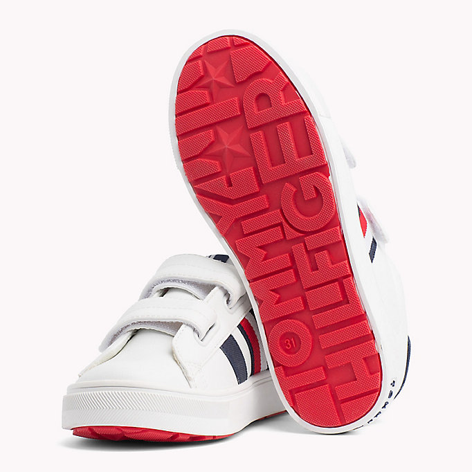 TOMMY HILFIGER Velcro Tennis Shoes - BLUE/WHITE - TOMMY HILFIGER Kids - detail image 1