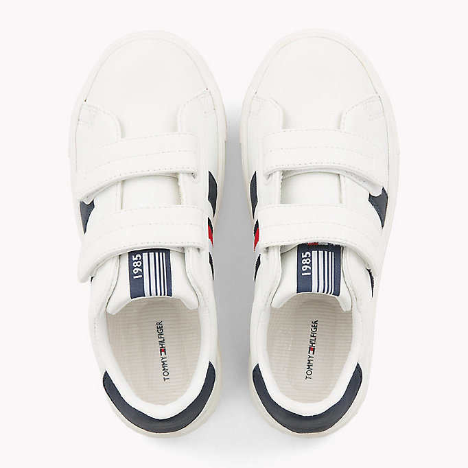 TOMMY HILFIGER Velcro Tennis Shoes - BLUE/WHITE - TOMMY HILFIGER Kids - detail image 3