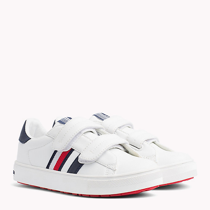TOMMY HILFIGER Velcro Tennis Shoes - BLUE/WHITE - TOMMY HILFIGER Kids - main image